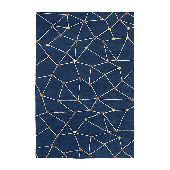 Kaleen Lily & Liam Star-Gaze Rectangular Rugs