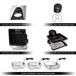 Electric Deep Fryer-3 Baskets by Classic Cuisine