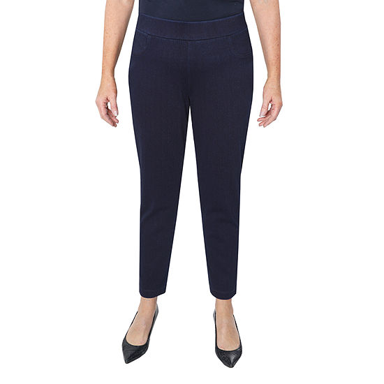 Cathy Daniels Picture Pretty Womens Mid Rise Straight Pull-On Pants