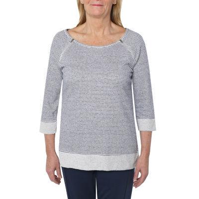 Cathy Daniels Weekend Brunch-Womens Scoop Neck 3/4 Sleeve T-Shirt