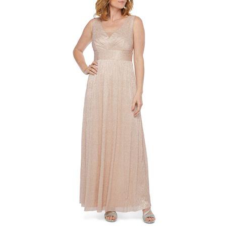 1930s Evening Dresses | Old Hollywood Silver Screen Dresses Scarlett Sleeveless Embellished Evening Gown 16  Red $35.99 AT vintagedancer.com