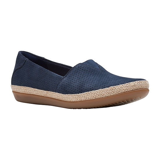 Clarks Womens Danelly Sky Boat Shoes