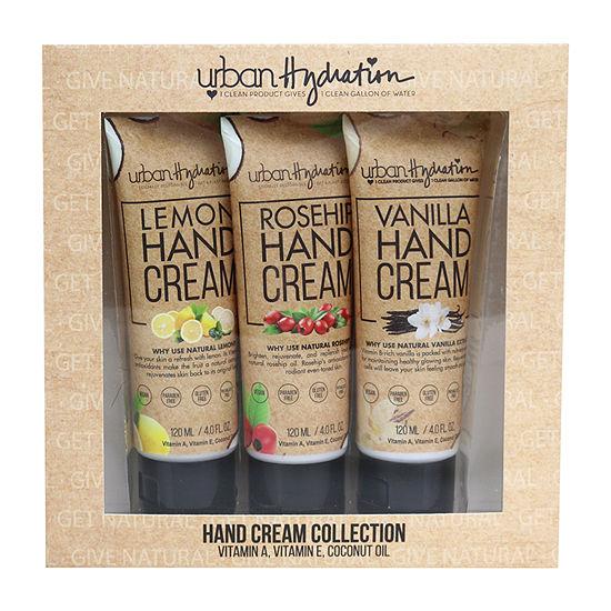 Urban Hydration Hand Cream 3pc Collection Value Set