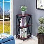 Tucson Home Office Collection 2-Shelf Bookcase