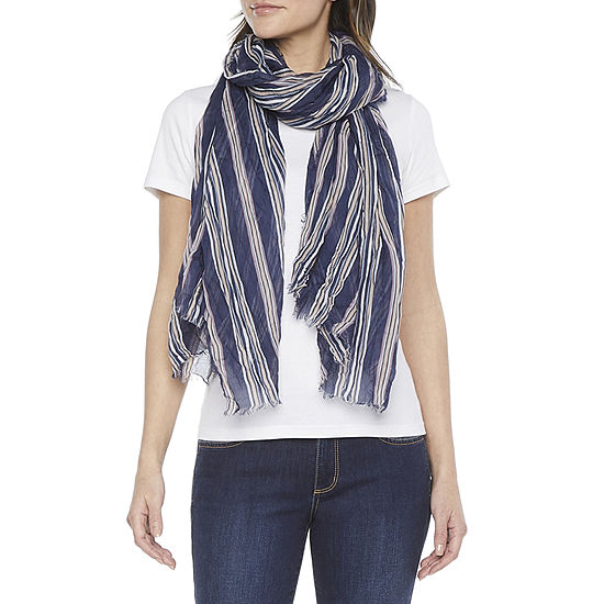 Mixit Striped Scarf