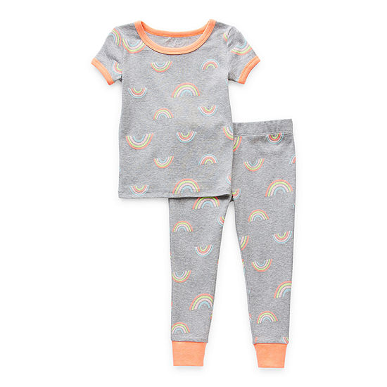 Okie Dokie Toddler Girls 2-pc. Pant Pajama Set