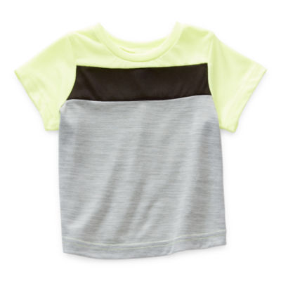 Okie Dokie Baby Boys Round Neck Short Sleeve T-Shirt