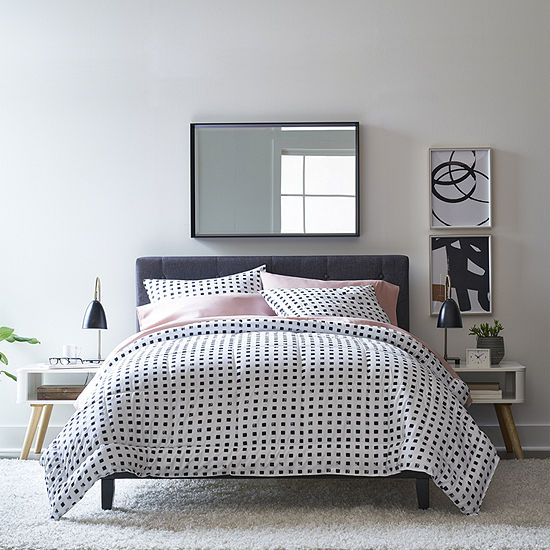 Thread Trade Co Dot Lightweight Reversible Comforter Set