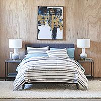 Deals on Thread Trade Co Stripe Stripes Lightweight Comforter Set 3PC King