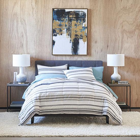 Thread Trade Co Stripe Stripes Lightweight Comforter Set