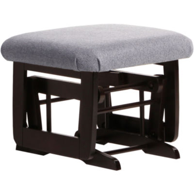 Dutailier®Ultramotion Gliding Ottoman - Dark Gray