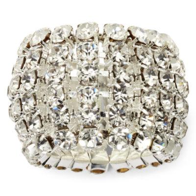 Vieste® Crystal Stretch Ring