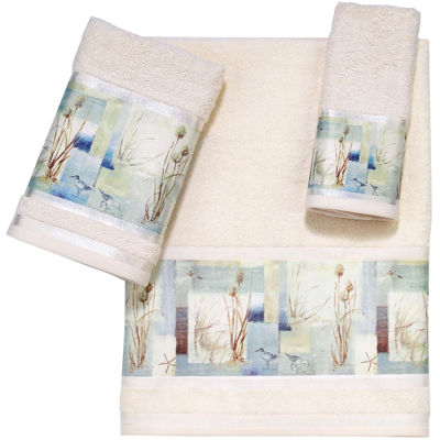 Avanti Blue Waters Bath Towels