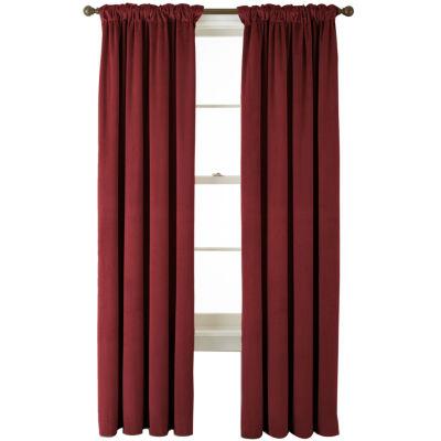 Bliss Velvet Back-Tab Curtain Panel
