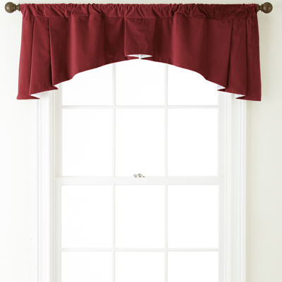 Bliss Velvet Jefferson Rod-Pocket Valance