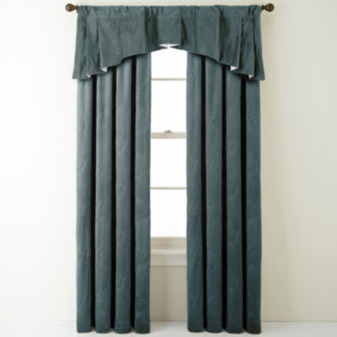 jcpenney.com | Bliss Velvet Embroidered Window Treatments