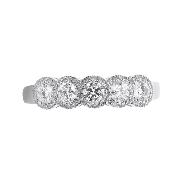 LIMITED QUANTITIES 1/2 CT. T.W. Diamond 14K White Gold Ring