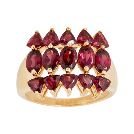 LIMITED QUANTITIES  Genuine Rhodolite Garnet Ring