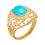 LIMITED QUANTITIES  Genuine Turquoise Scroll Ring