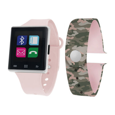Itouch Air Interchangeable Band Set Pink / Camo Unisex Multicolor Smart Watch-Jcp2723s724-Blc
