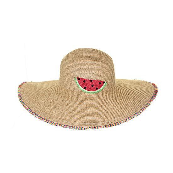 Riviera Straw Floppy Hat