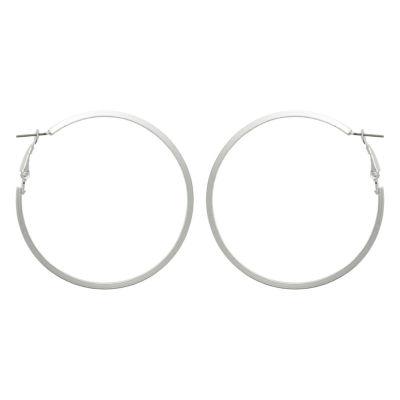Mixit 63.6mm Hoop Earrings