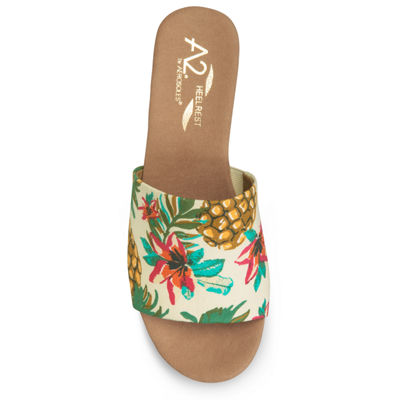 A2 by Aerosoles Sunflower Womens Slide Sandals