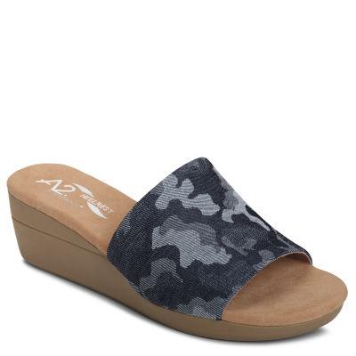 A2 by Aerosoles Sunflower Womens Slide Sandals