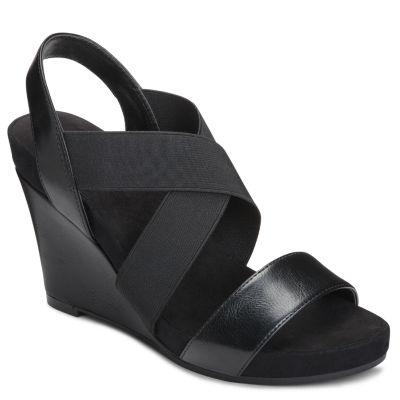 A2 by Aerosoles Lotus Plush Womens Wedge Sandals