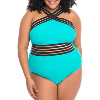 Boutique + One Piece Swimsuit Plus