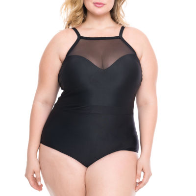 Boutique + One Piece Swimsuit-Plus