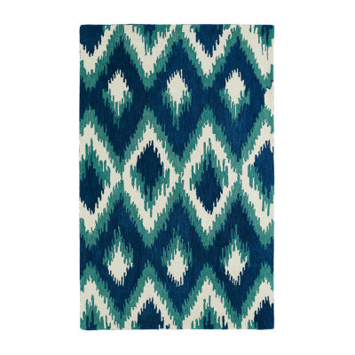 Kaleen Global Inspiration Ikat Rectangular Rug