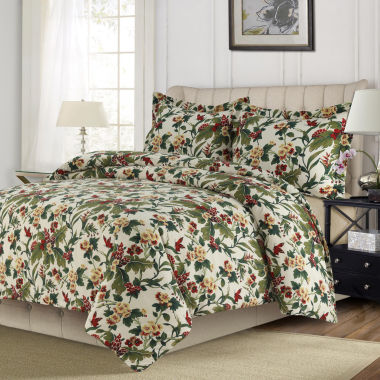 Madrid Printed Tropical Garden Oversized Duvet Cover Set
