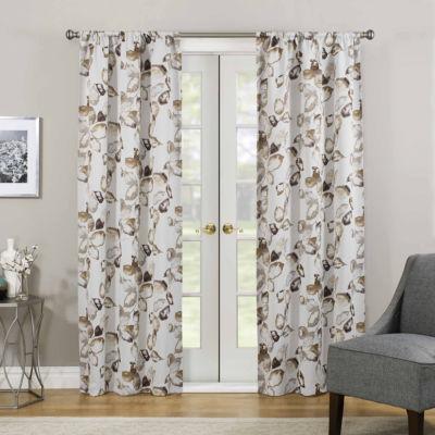 Eclipse Paige Room Darkening Rod-Pocket Curtain Panel