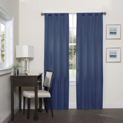 Eclipse Darrell Rod-Pocket Curtain Panel