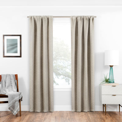 Eclipse Isanti Blackout Rod-Pocket Curtain Panel