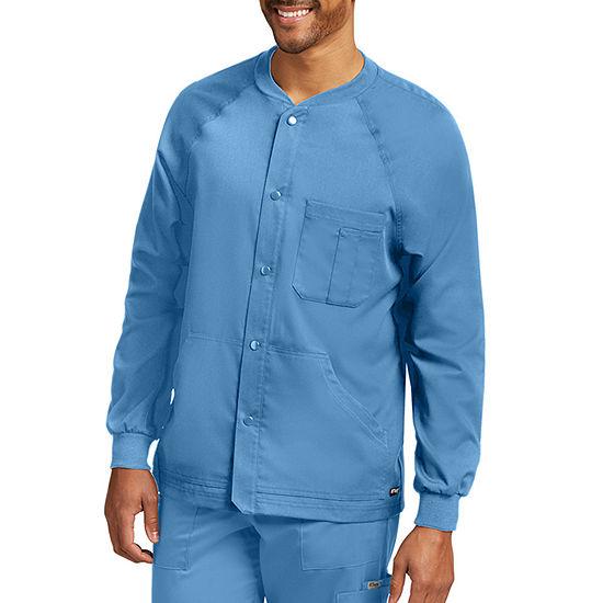 Barco® Grey's Anatomy™ 0406 Men's Raglan Scrub Jacket - Big