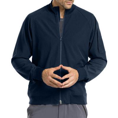 Barco™ One 0405 Men's Bomber Muck Neck Zip Scrub Jacket