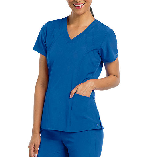 Barco® One™ 5105 Women's V-Neck Perforated Detail Performance Scrub Top
