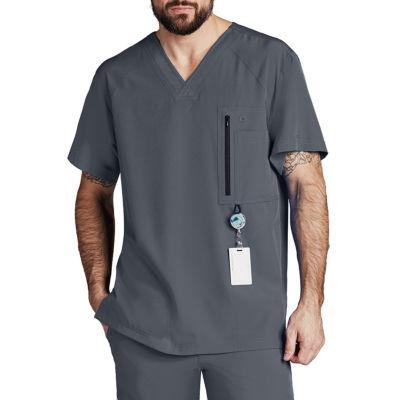 Barco™ One 0115 Men's 5 Pocket V-Neck Scrub Top - Big