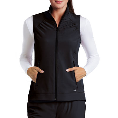 Barco™ One 5406 Women's Mock Neck Zipper Scrub Vest