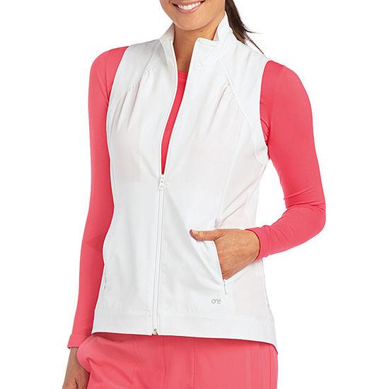 Barco™ One 5406 Women's Mock Neck Zipper Scrub Vest