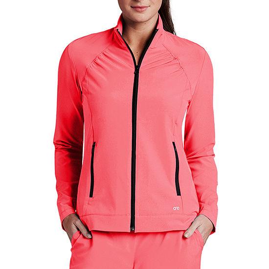 Barco® One™ 5450 Women's Crew Neck Zipper Scrub Jacket