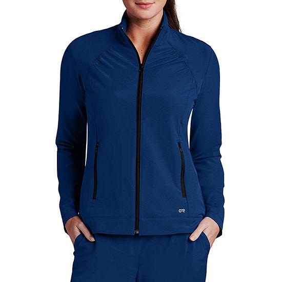 Barco® One™ Women's 5405X Crew Neck Zipper Jacket - Plus