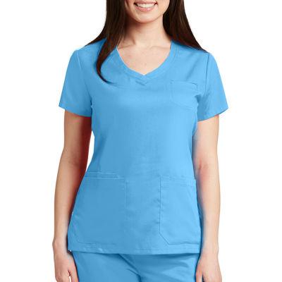 Barco™ Grey's Anatomy 41460 Stylized Princess V-Neck Scrub Top - Plus