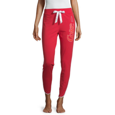 Coca-Cola Junior's French Terry Jogger Pajama Pants