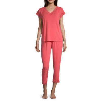 Liz Claiborne® Women's Lace Trim Capri Set