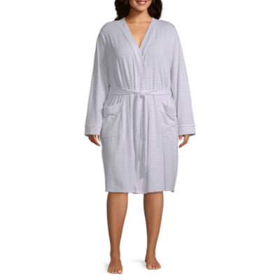 Liz Claiborne® Plus Size Essential Knit Robe