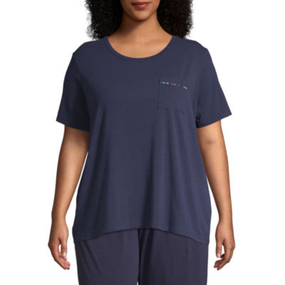 Liz Claiborne® Plus Size Essential Knit Tee