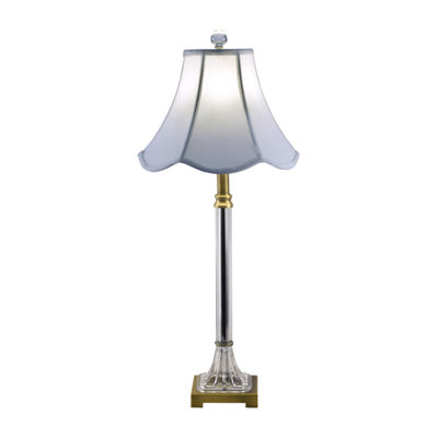 Dale Tiffany Lyra Crystal Buffet Table Lamp